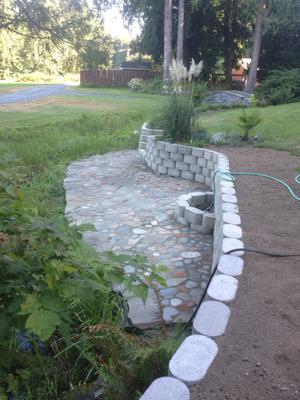 Retaining Wall/ Fire Pit